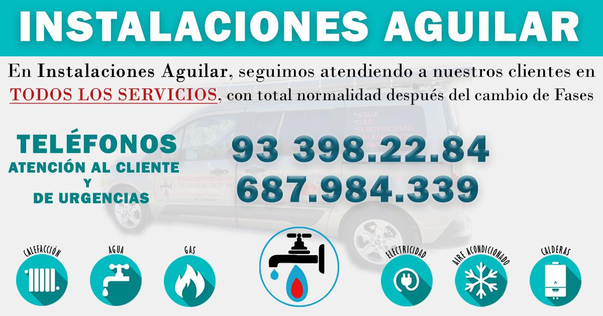 Servicio de Urgencias Luz, Agua, Gas y Electricidada Badalona Coronavirus